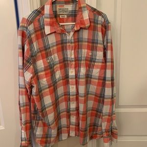 Lucky brand long sleeve button up shirt